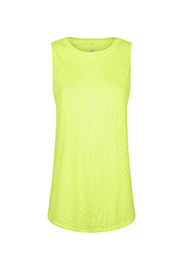 NEW LOOK    Printed neon top
