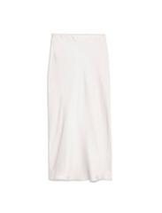 TOPSHOP  White Slip Skirt