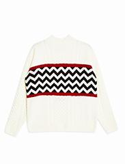 TOPMAN  Striped Sweater
