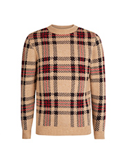 NEW LOOK  Checked Brushed Sweater