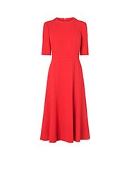 L.K. BENNETT  Vena Red Dress