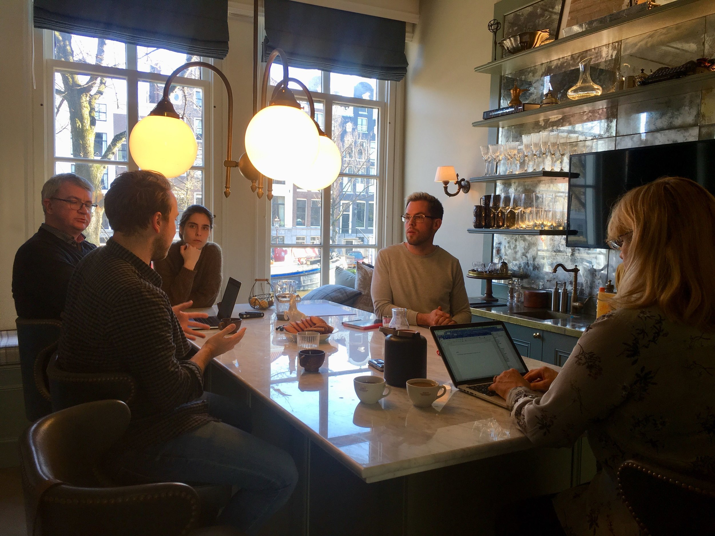 Brainstorming meeting on a possible collaboration with a platform for sharing of physical goods in the Netherlands.