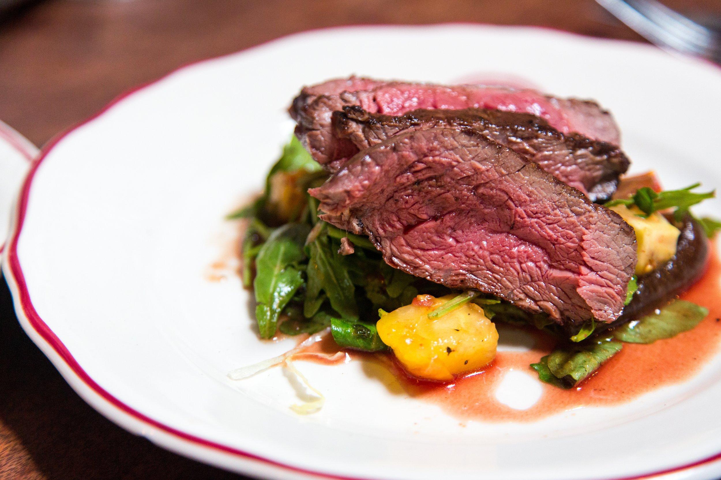 steaks, ribeye, hangar steak, flat iron steak, filet minon