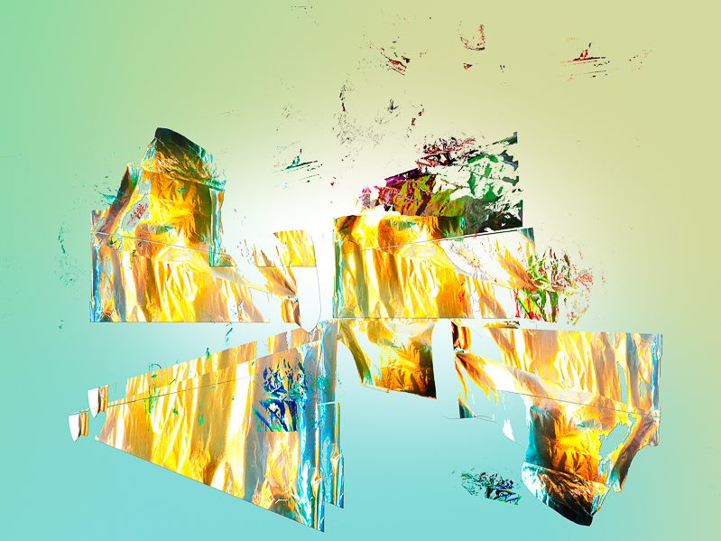 """An example of """"beautiful accidents"""" in the digital workflow , or the """"Ghost in the Machine"""""""