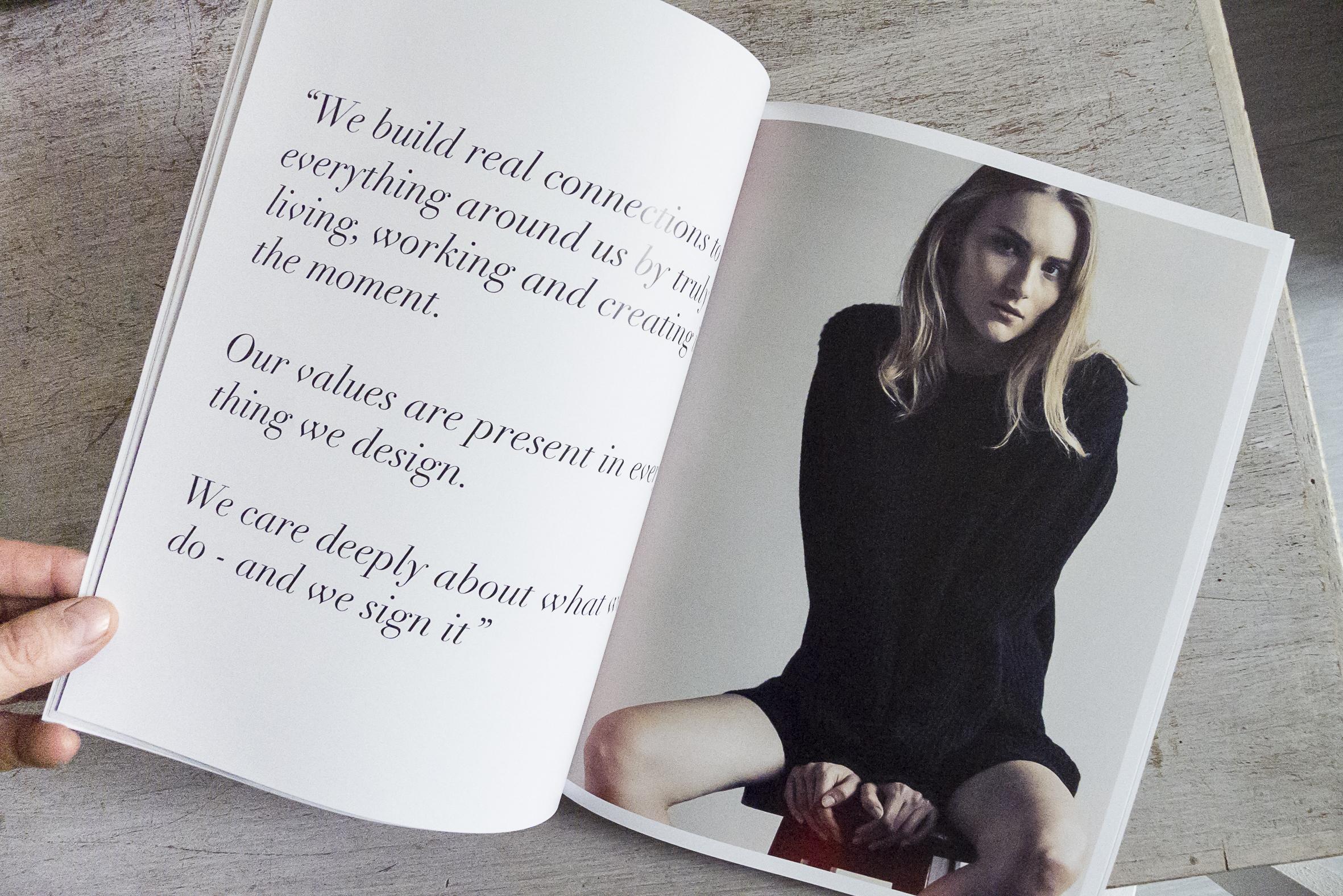 Fashion model Michaela Bodenmiller for Stephan Boya