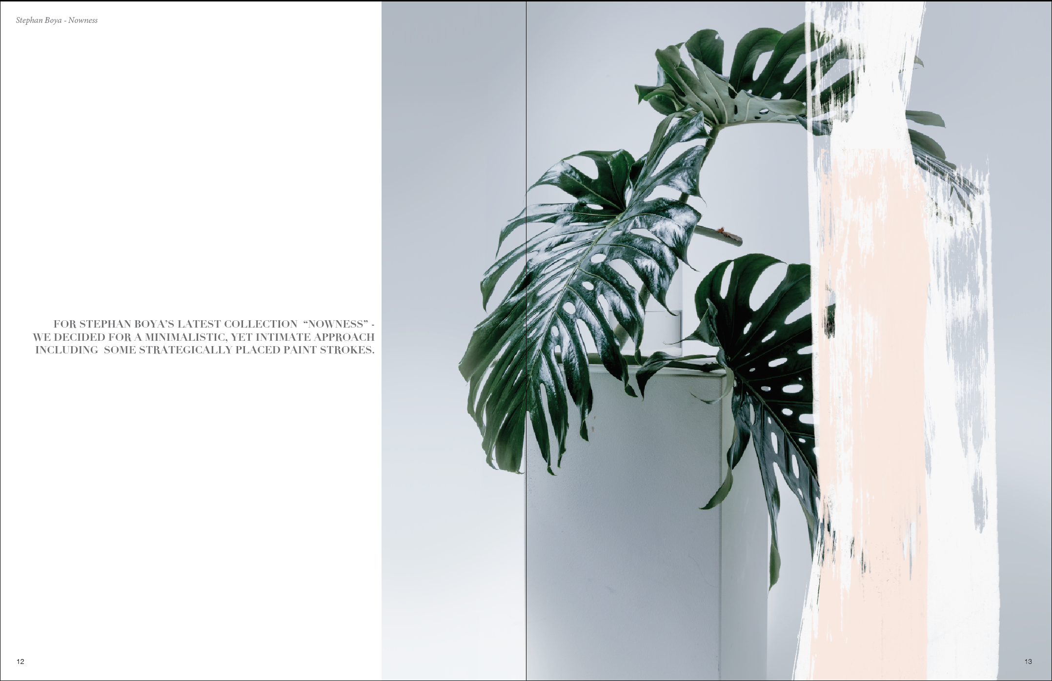 My latest shooting for Stephan Boya owed much to it's success to the prep work, including the work on our mood board.