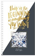 Book cover this is the beginning of anything you want