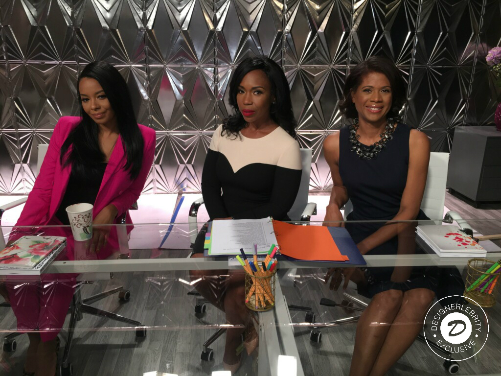 Courtesy of Robin Wilson & Centric's ' Queen Boss'  |Table Judges: Vanessa Simmons, Lauren Lake and Robin Wilson|