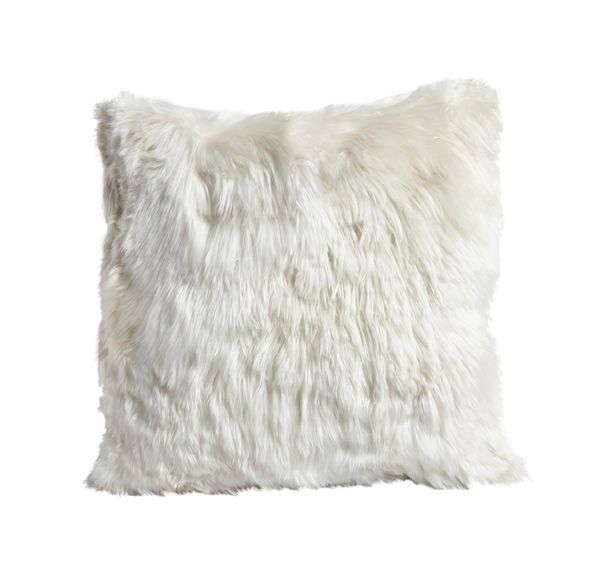 "ALPACA 20"" SQUARE IVORY PILLOW"