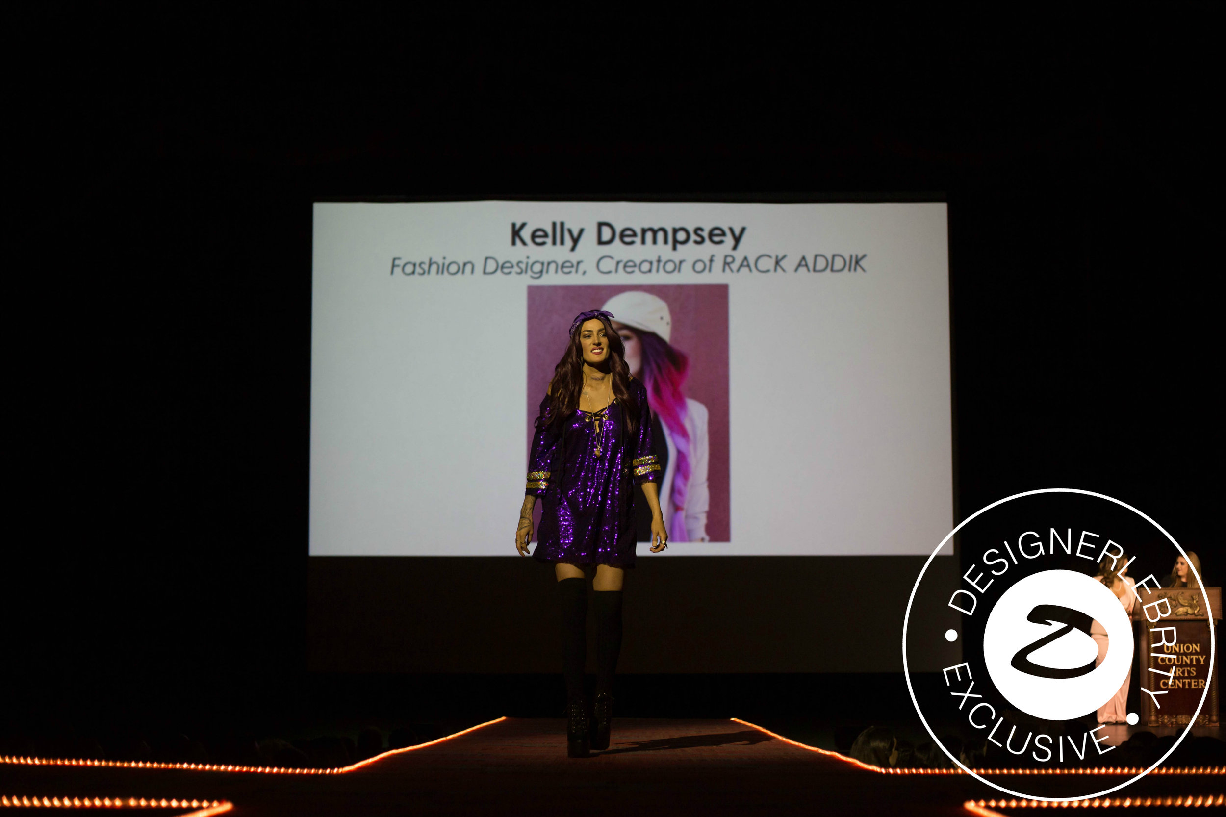 Kelly Dempsey - Fashion Designer, Creator of Rack ADDIK(Project Runway Runner-Up Season 14)Judging: Runway to Street Chic