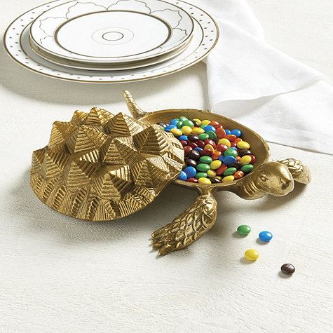 Bunny Williams Turtle Candy Dish