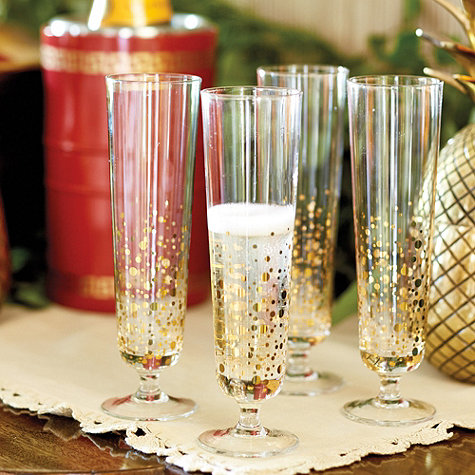 Bunny Williams Bubbly Glasses- Set of 4