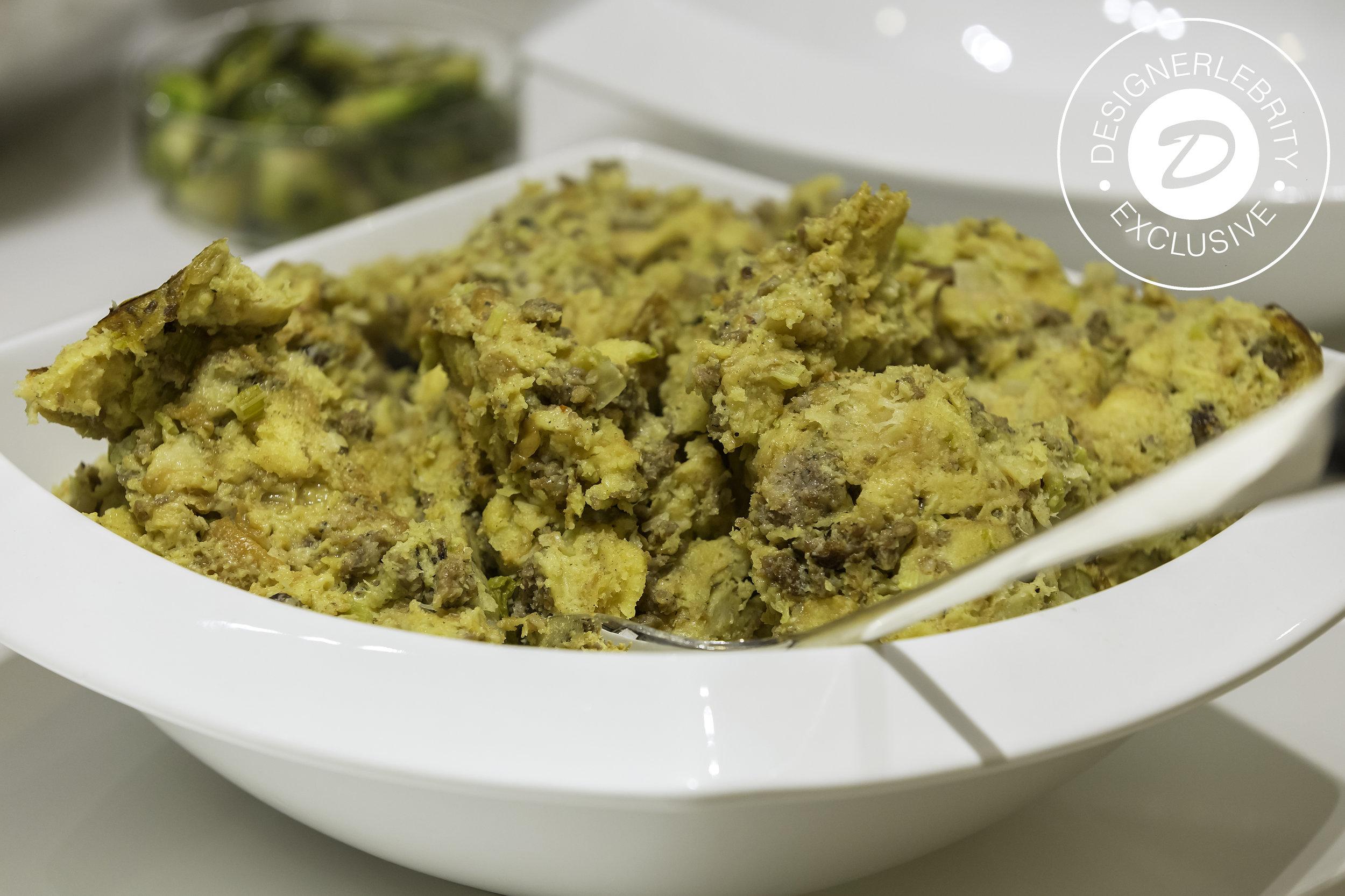 Herb (Hawaiian Sweet Rolls) Stuffing -