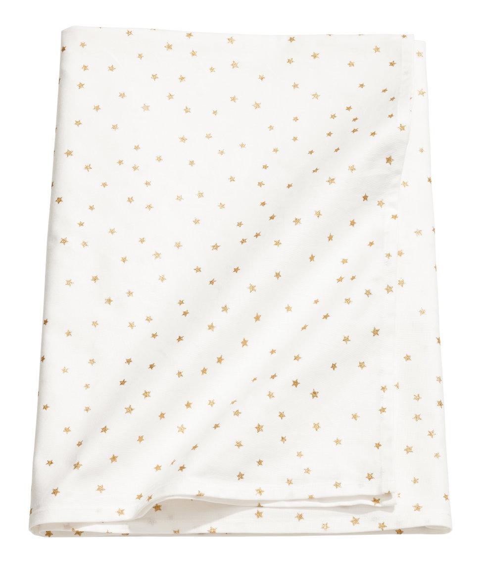 Star-print Cotton Tablecloth