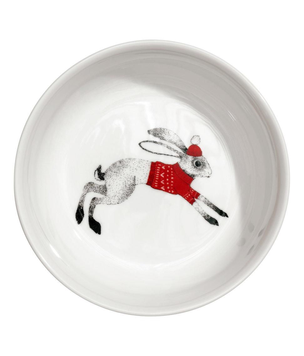 Christmas-motif Porcelain Bowl