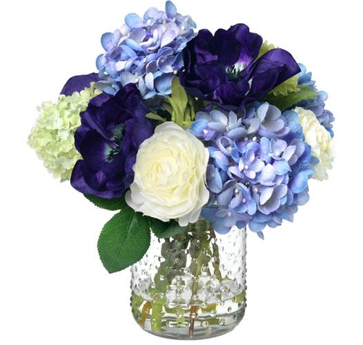 Diane James Home Purple Blooms