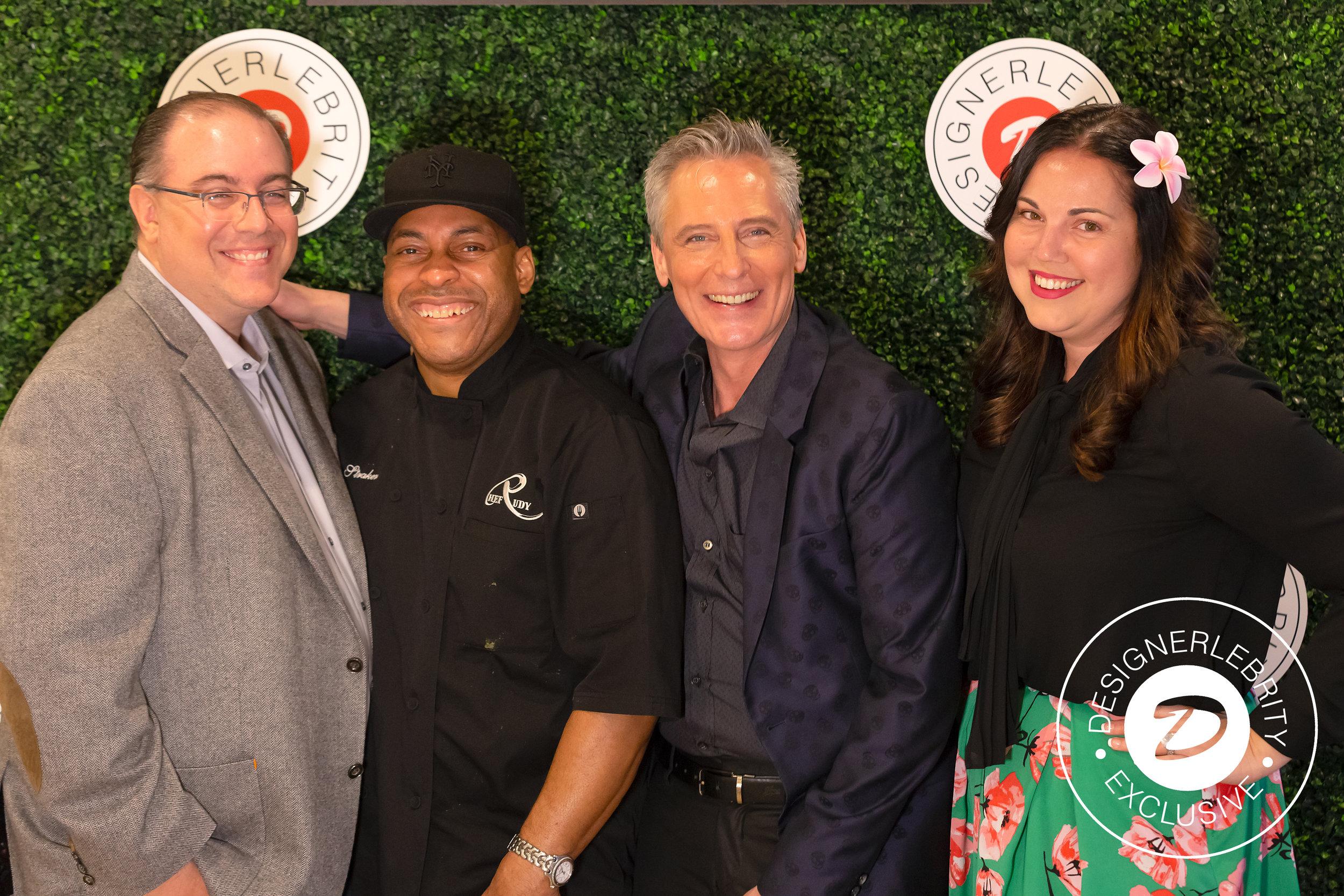 Celebrity Chef, Rudy Straker