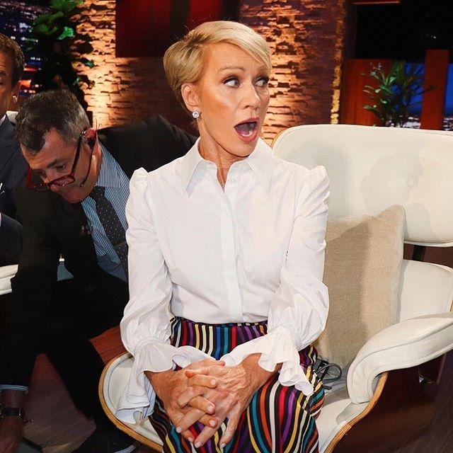 Oh the career moves we make. ⬆️ From building two successful businesses with Viteri Style Management and Designerlebrity to now becoming a shark by investing in up and coming companies. This Barbara is channeling another Barbara. ❤ @barbaracorcoran 💋  Always a #fempreneur ♀️ Happy weekend everyone. 📷: @sharktankabc
