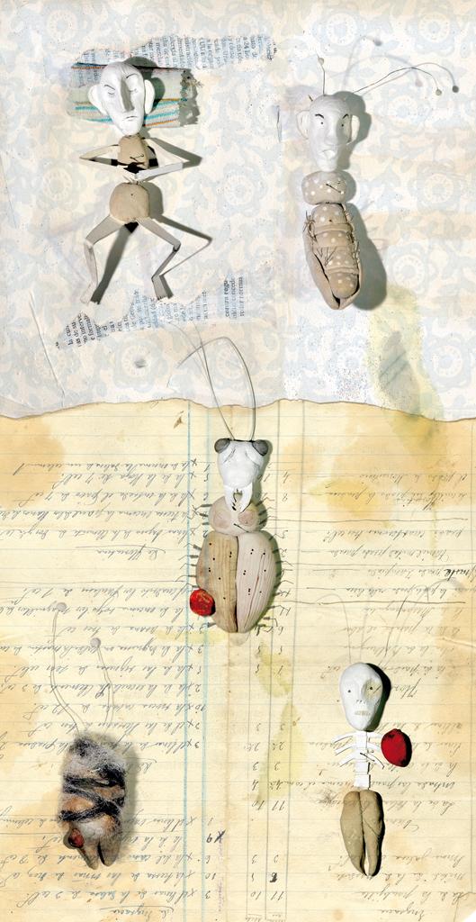 """Ilustración """"Metamorfosis. Homenaje a Kafka"""", para la Revista El Duende."""