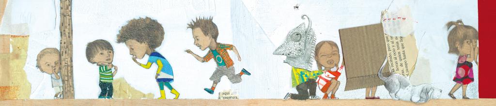 """Ilustración para el artículo de El País Semanal, """"¡Queremos jugar en la calle!"""""""