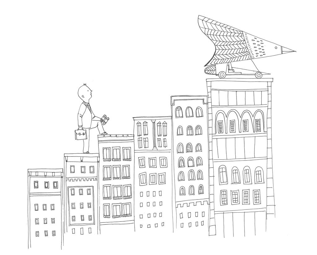 Ilustraciones para Abante Asesores.