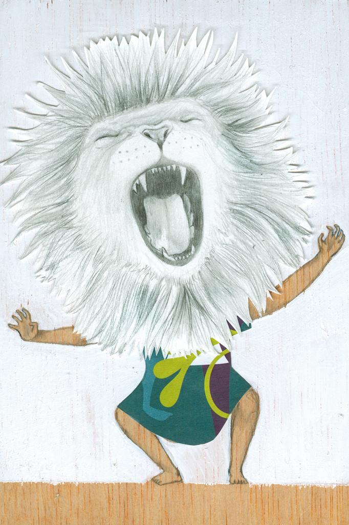 Serie Mis Juegos. El rugido de la selva.  My games: The roar of the jungle.