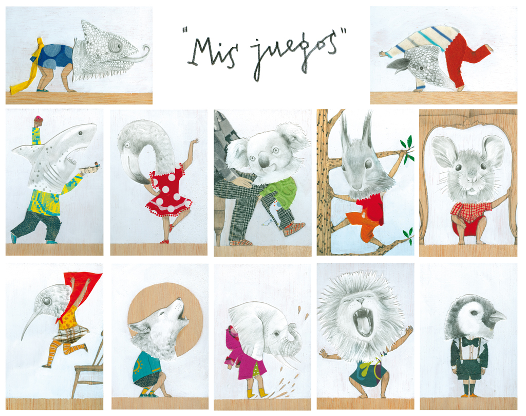 Serie Mis Juegos.  My games.