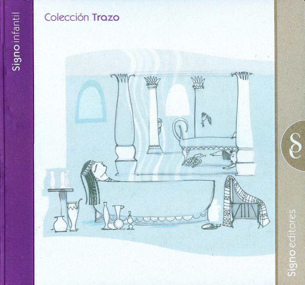 """Colaboración en la ilustración de las colecciones """"Garabato"""" y """"Trazo"""" de Signo Infantil, Signo Editores."""