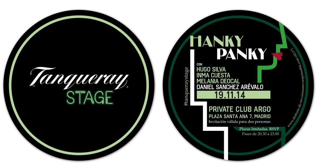 Invitación para Tanqueray Stage 2