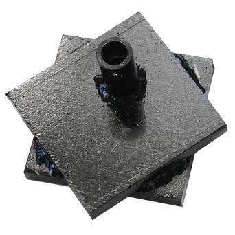 Flue tile breaking head.
