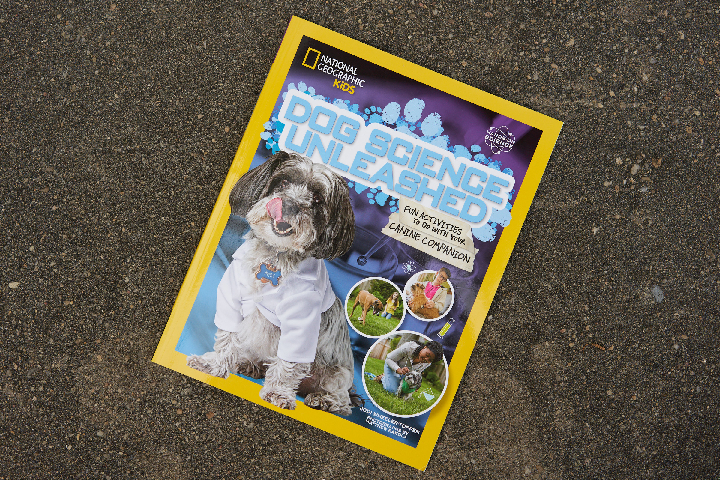 I smile every time I see the cover because I can remember each dog's unique personality.