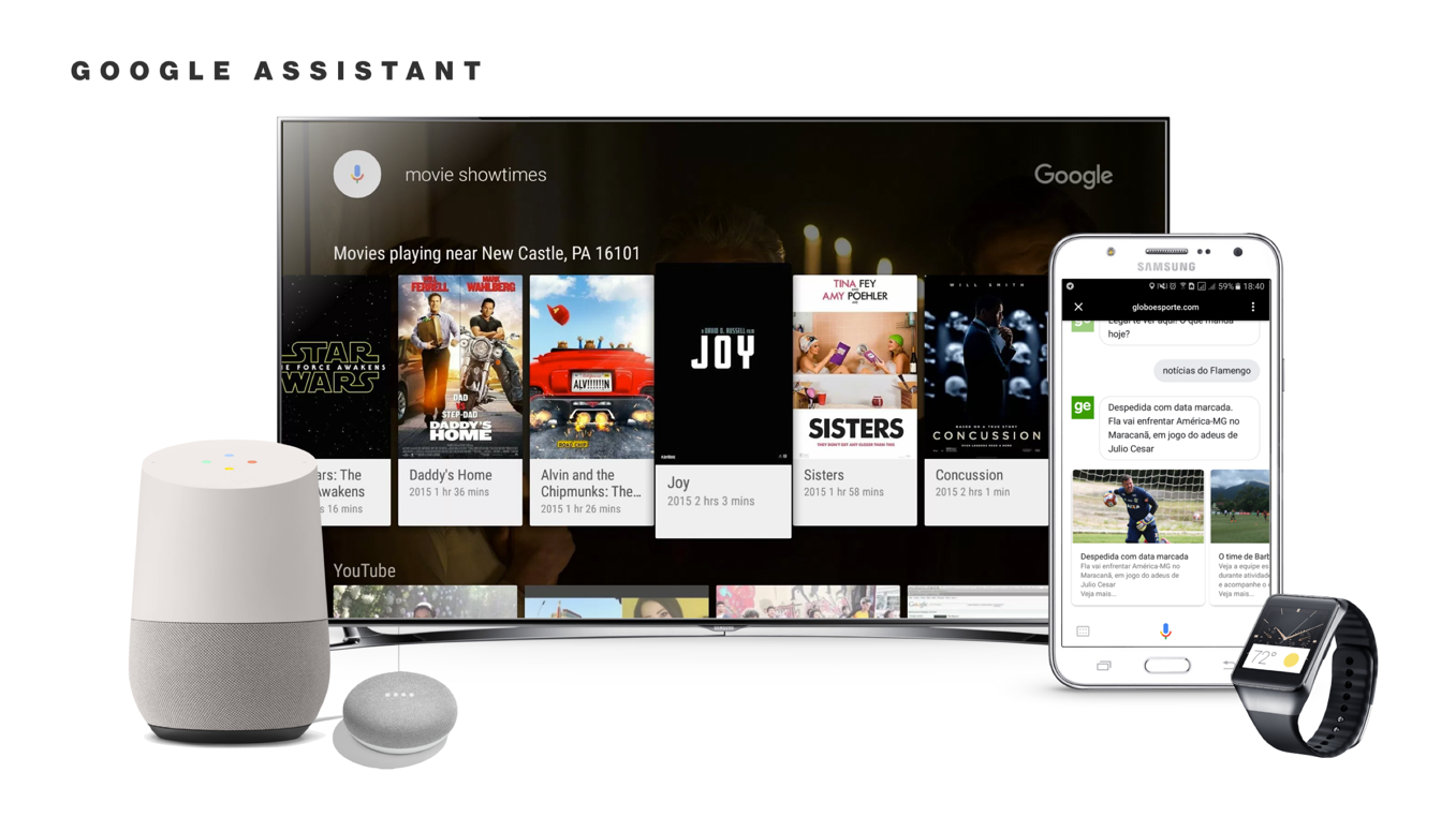 Supported devices for Google Assistant
