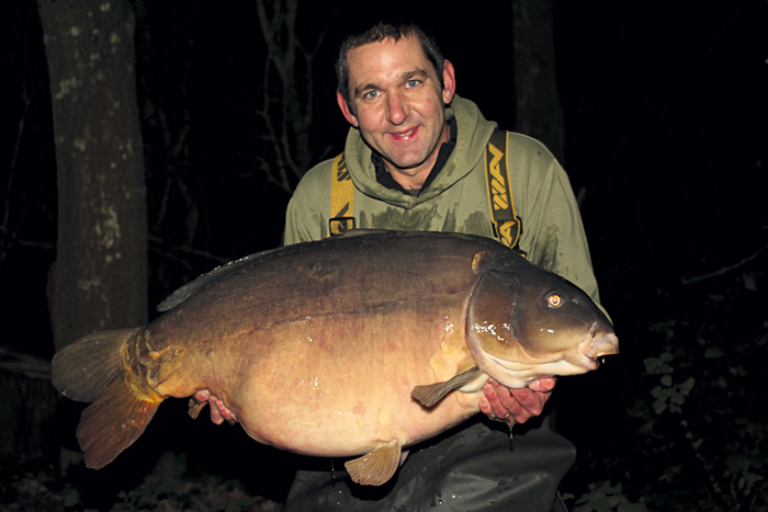 A bloomin' great hippo, my 10th over 48lb, at 54lb 4oz.
