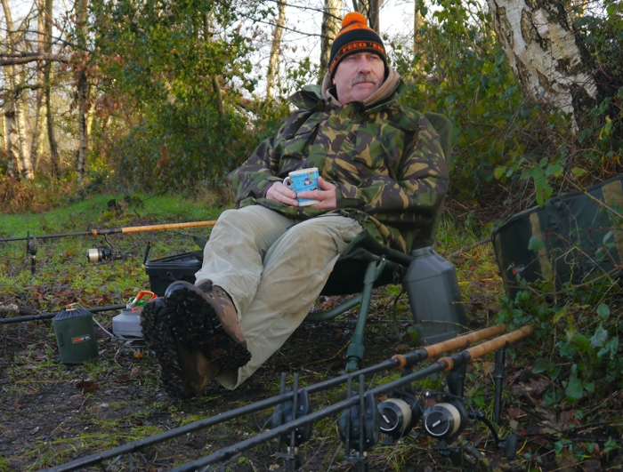 I settle in where I want to be, not where angling pressure dictates.