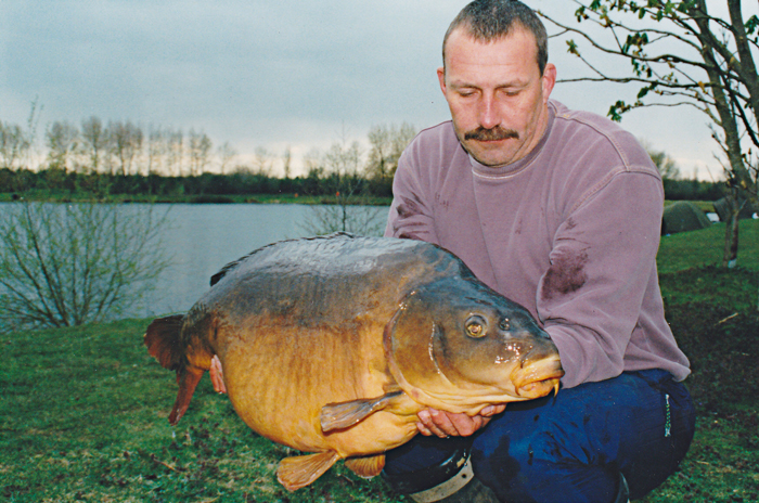 Winter success in the late-'90s. Linear Fisheries' Manor Farm Lake's Popeye at 39lb 8oz