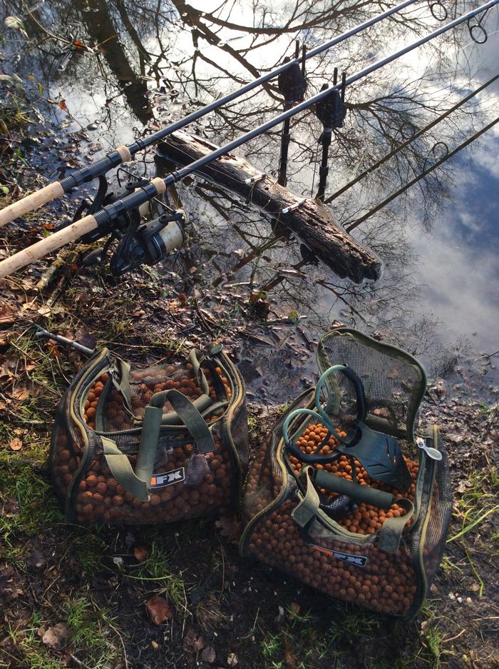 Bait is still the most vital aspect of my winter carp fishing.