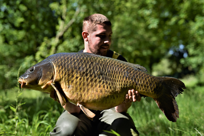 Another one of the old commons – Swirly Tail at 33lb 2oz.