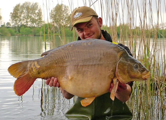 This 33lb 3oz catch was the result of casting to a showing fish.