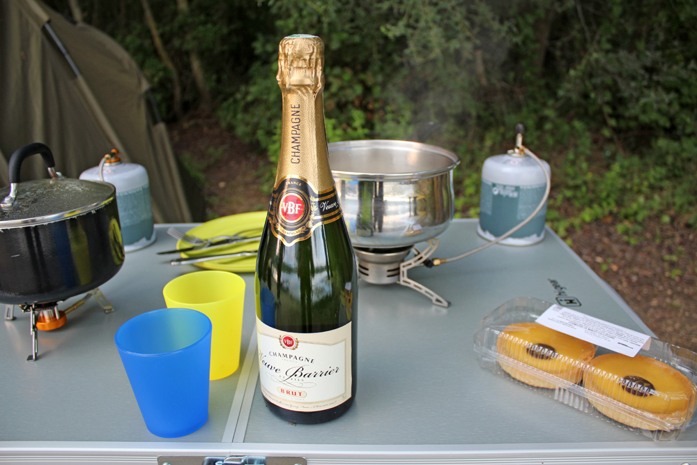 When in France it would seem rude not to have a bottle of bubbly