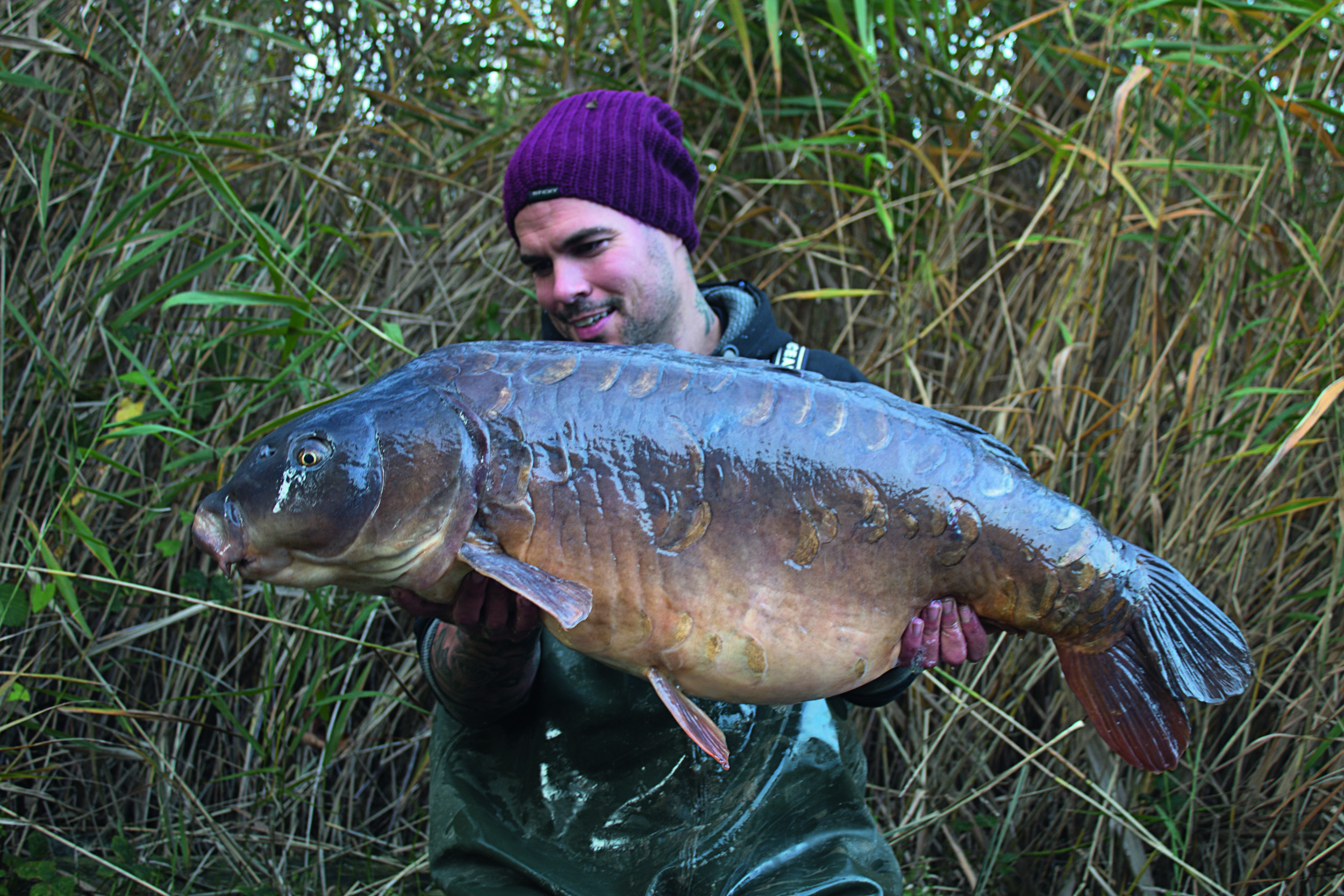 The awesome old Big Lin at 39lb 9oz, a great end to the season.