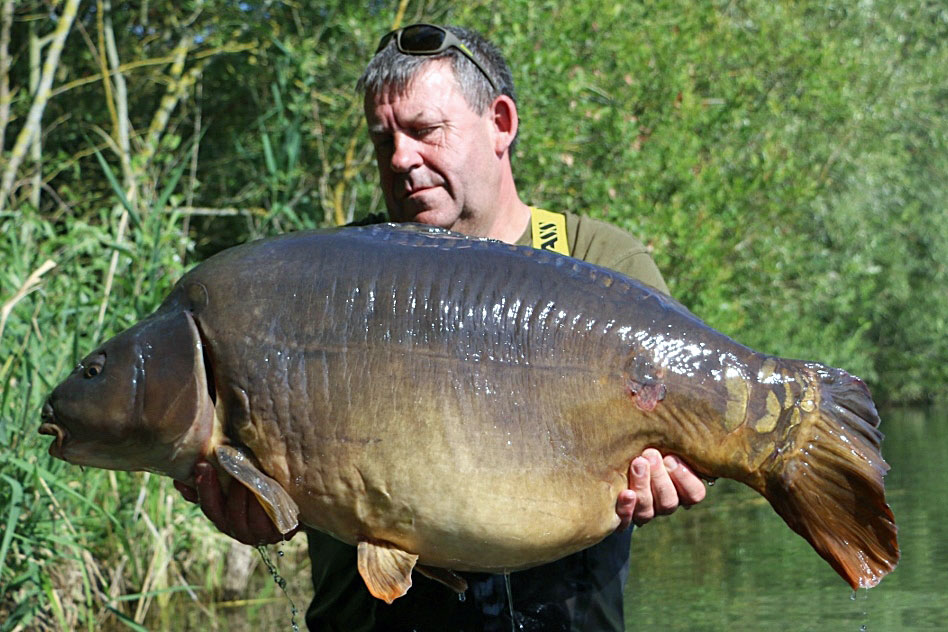 Be warned, some fish, such as this French mirror, may be deterred from feeding over an area full of scent and attraction. Sometimes, less is more