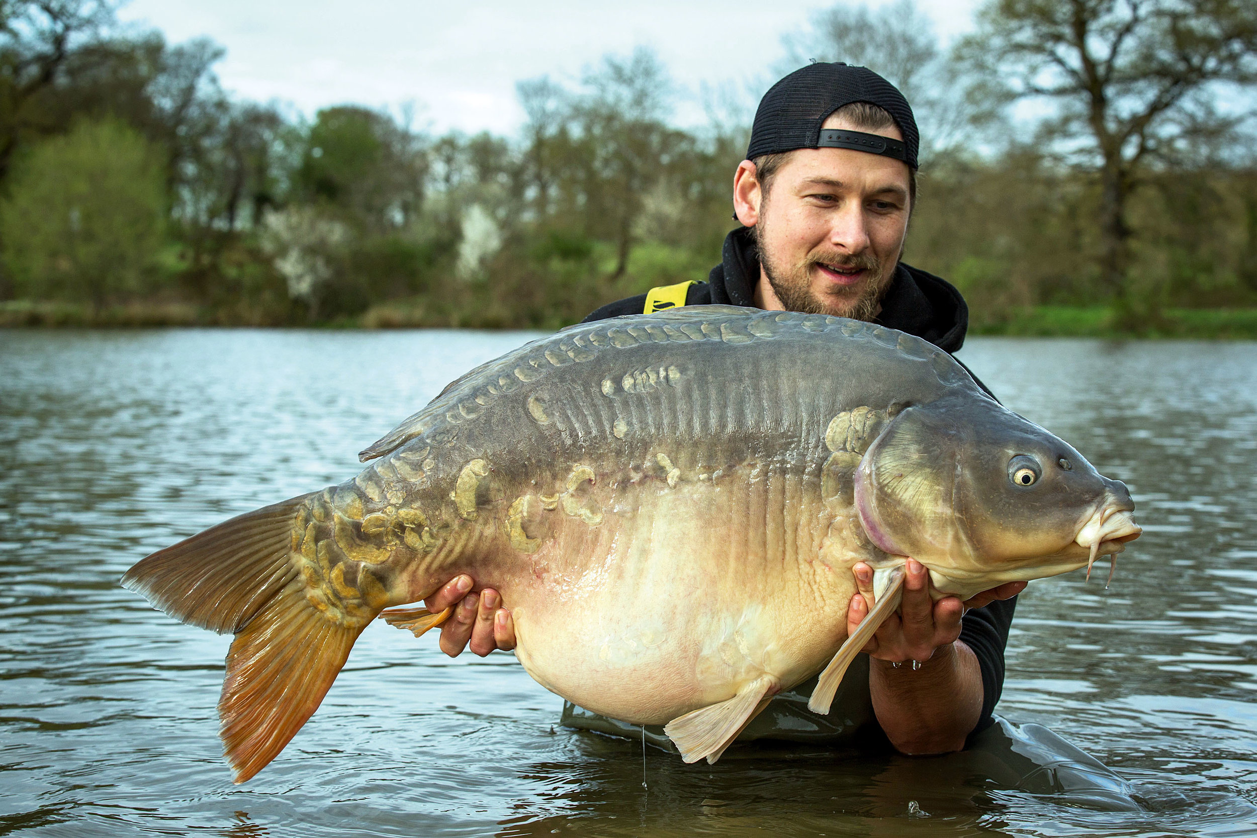 53lb 8oz – what a marker to lay down for the rest of our stay