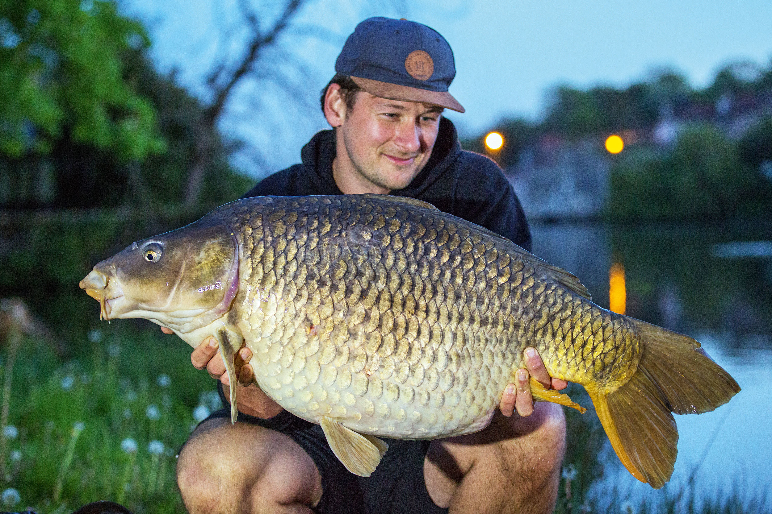 A defining moment in my angling life – words failed me for this upper 40, river-caught, common