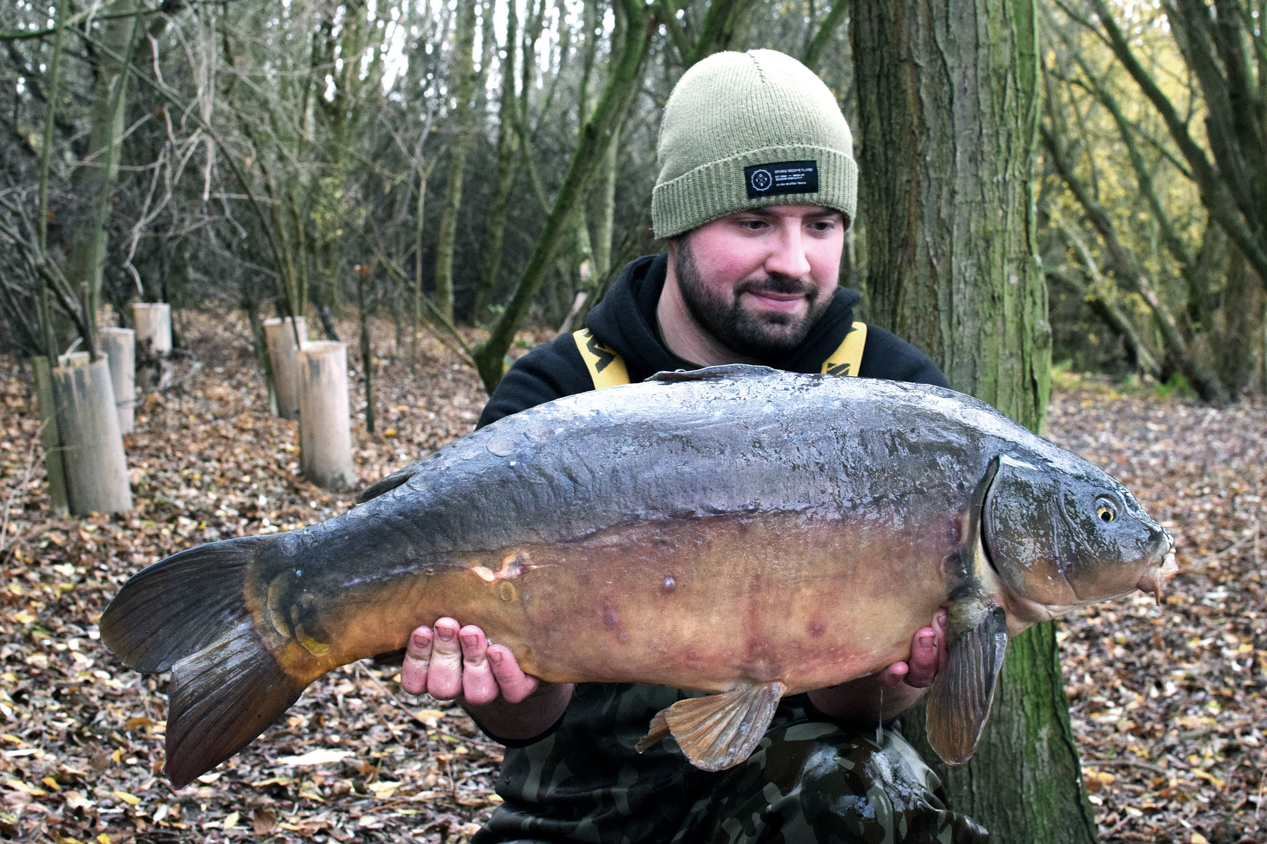 This 22lb mirror was my second largest of the session