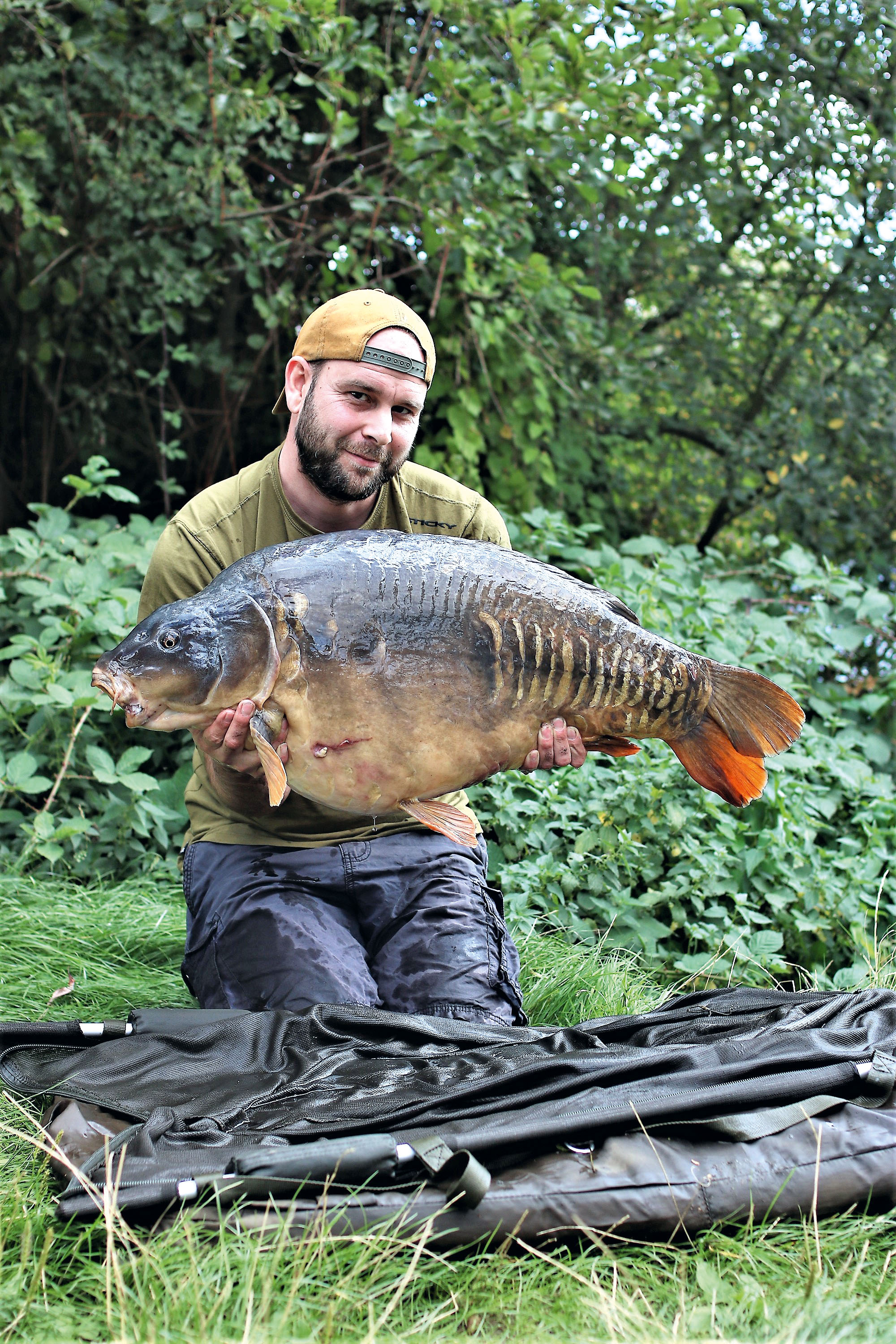 At 41lb and with a very distinctive body shape, The Ugly Sutton is a real character of the lake