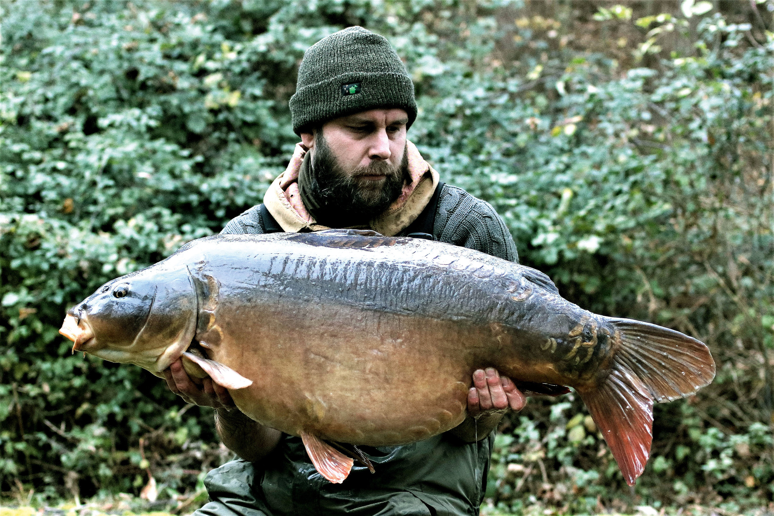 It wasn't time to call it a day just yet... Bromfield's at 44lb