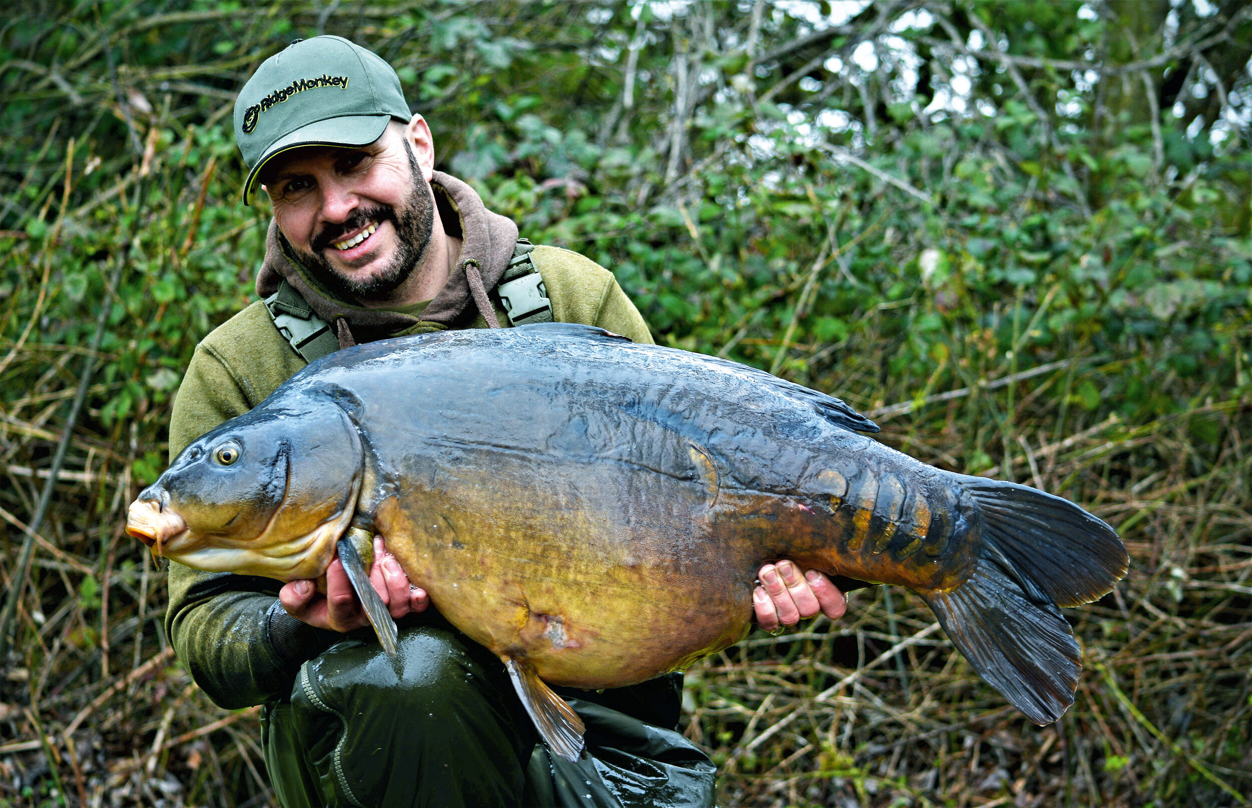 A stunning Horton 50 for Dave, taken on his favourite reverse combi-rig