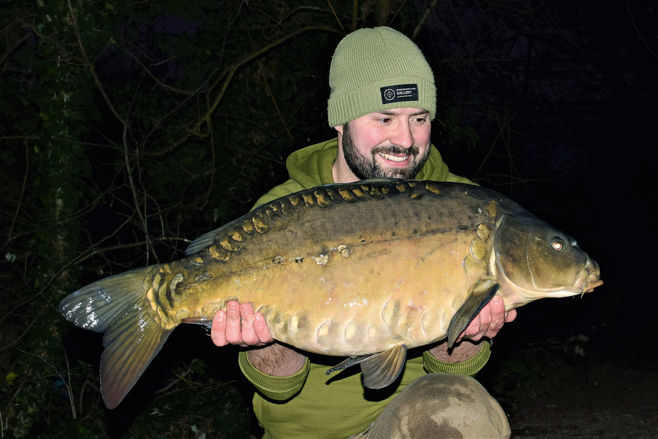 This 25lb mirror proved to be the biggest of my jaunt on to Lake Two