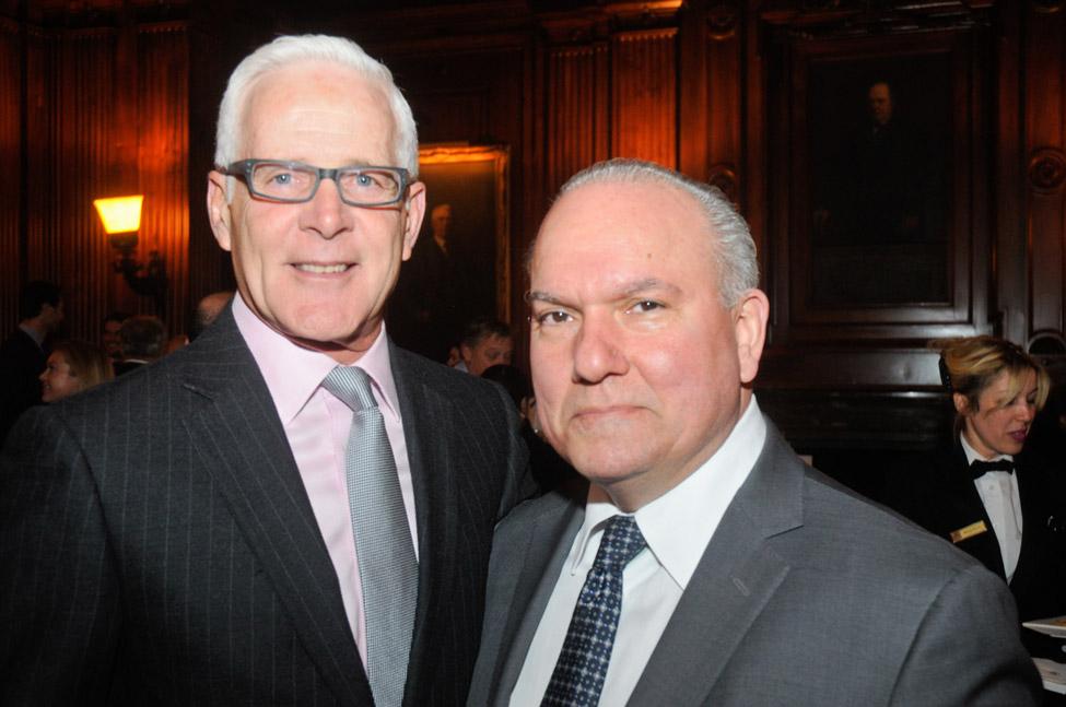Richard Haray, James Lenox House Association Board Member, and Ted Moudis, Ted Moudis Associates