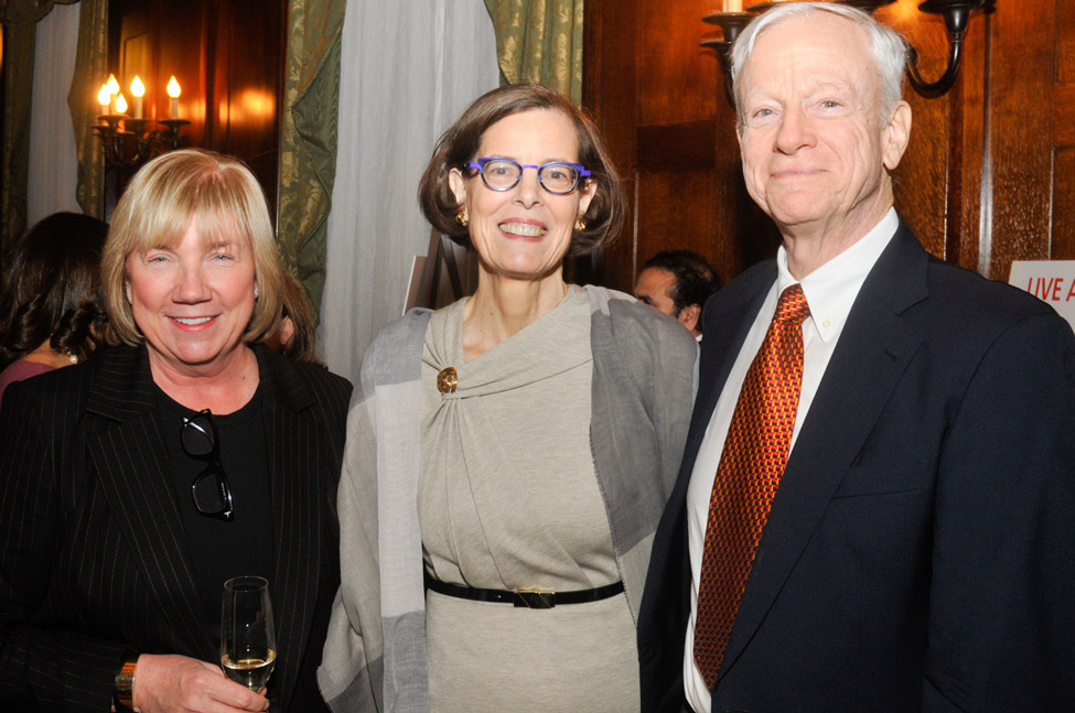 Margaret Foley, Carnegie East House, Carolyn Patterson, William Patterson, James Lenox House and Carnegie East House Board Member